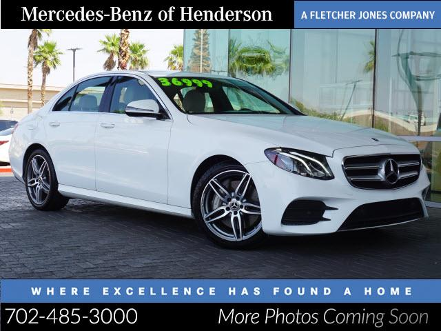 used 2017 Mercedes-Benz E-Class car, priced at $39,991