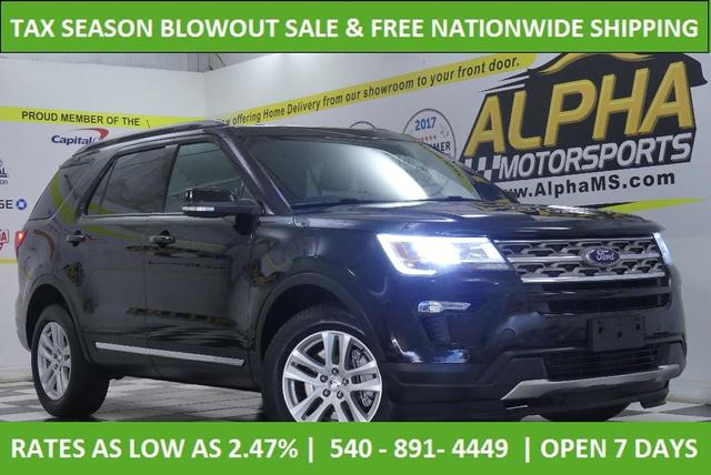 used 2018 Ford Explorer car, priced at $27,500