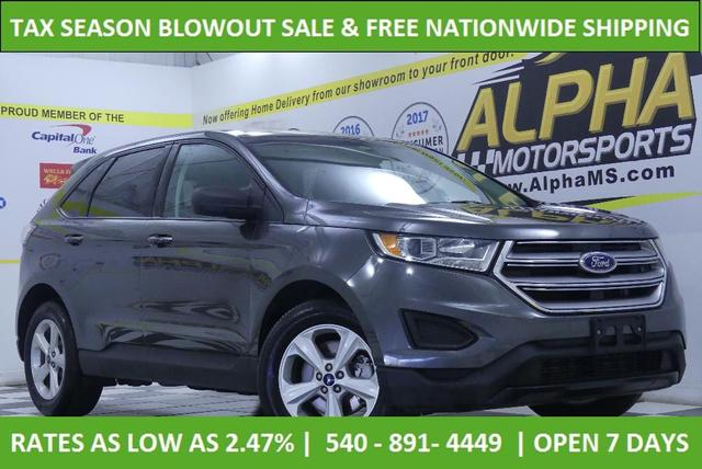 used 2018 Ford Edge car, priced at $17,200