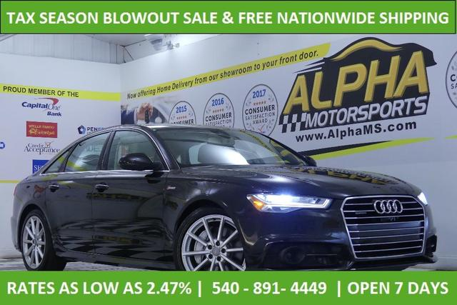 used 2017 Audi A6 car, priced at $28,000