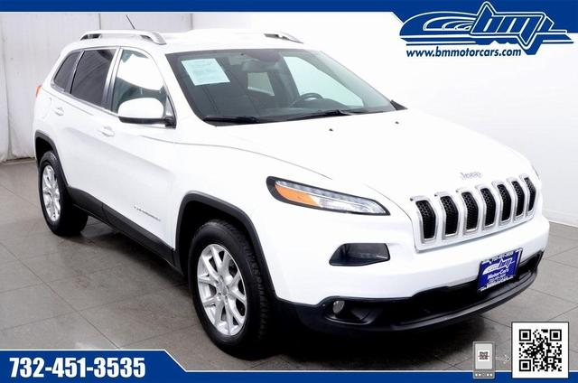 used 2015 Jeep Cherokee car, priced at $14,995