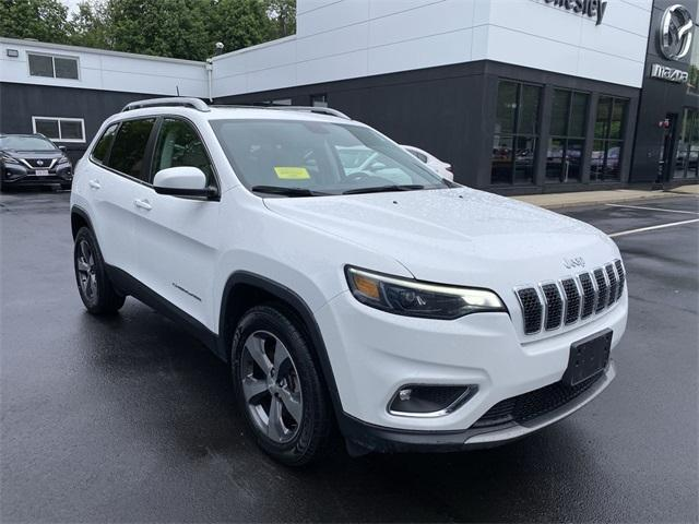 used 2019 Jeep Cherokee car, priced at $28,795