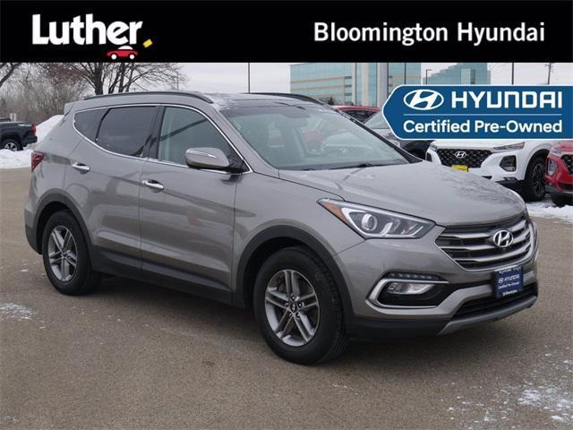 used 2018 Hyundai Santa Fe Sport car, priced at $24,500
