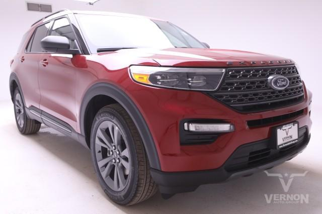 new 2021 Ford Explorer car, priced at $48,970
