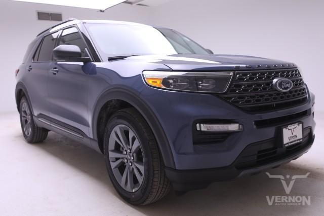 new 2021 Ford Explorer car, priced at $48,965