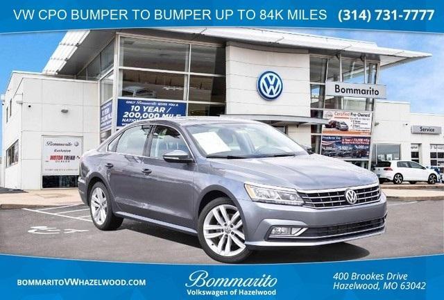 used 2018 Volkswagen Passat car, priced at $20,950