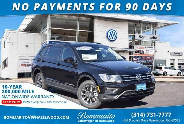 new 2021 Volkswagen Tiguan car, priced at $27,085