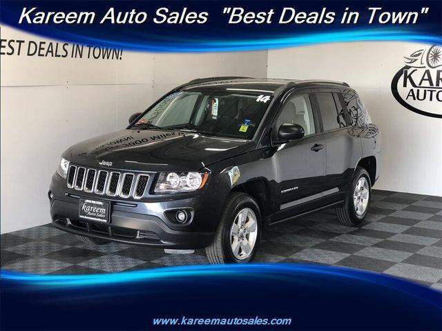 used 2014 Jeep Compass car, priced at $9,875