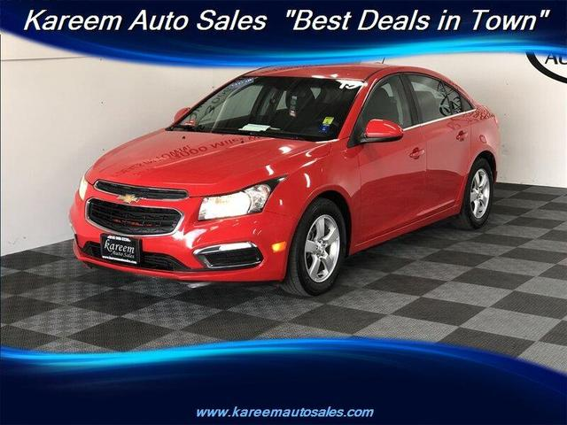 used 2015 Chevrolet Cruze car, priced at $9,875