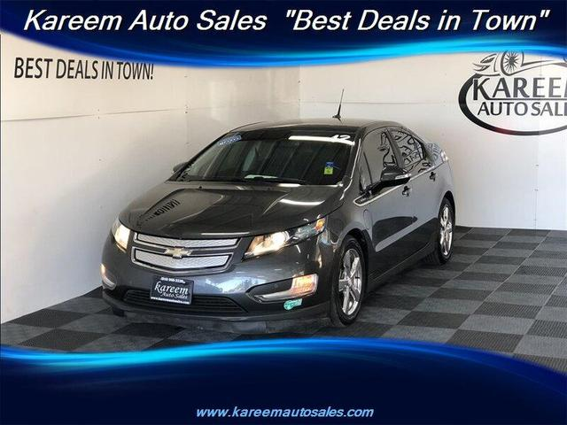 used 2012 Chevrolet Volt car, priced at $9,485