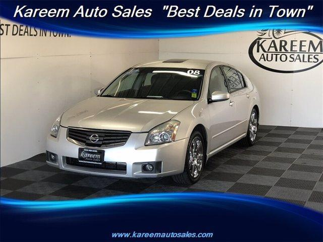 used 2008 Nissan Maxima car, priced at $8,845