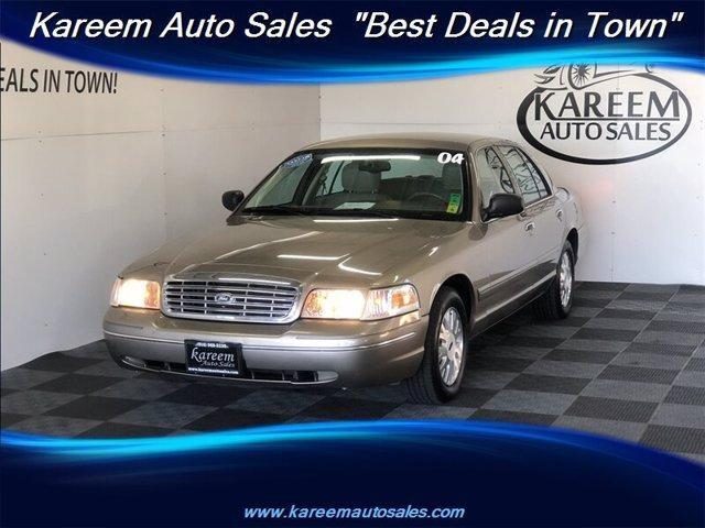 used 2004 Ford Crown Victoria car, priced at $6,985
