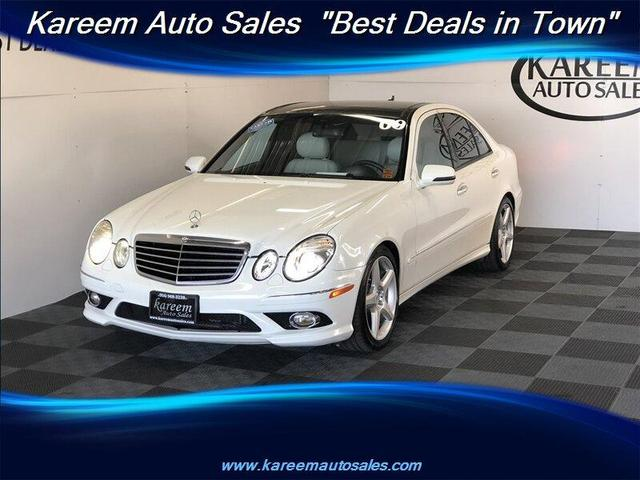 used 2009 Mercedes-Benz E-Class car, priced at $9,989