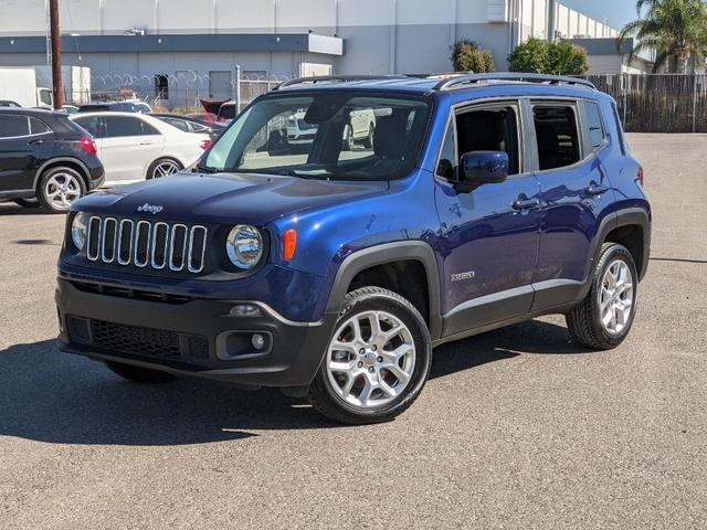 used 2017 Jeep Renegade car, priced at $16,400