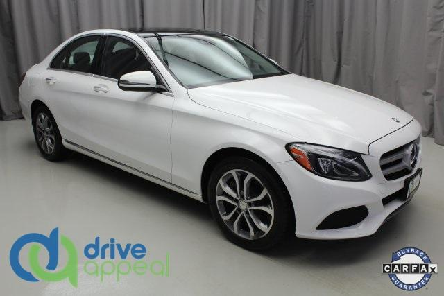 used 2016 Mercedes-Benz C-Class car, priced at $23,500