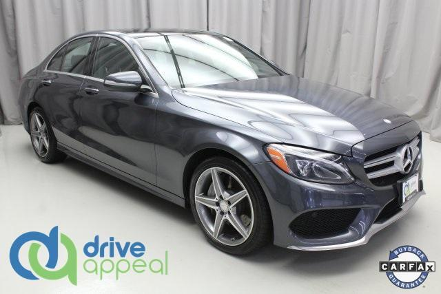used 2015 Mercedes-Benz C-Class car, priced at $27,800