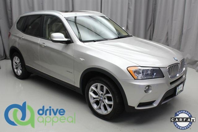 used 2013 BMW X3 car, priced at $15,990