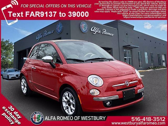 used 2017 FIAT 500C car, priced at $16,998