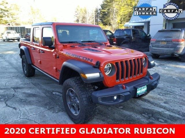 used 2020 Jeep Gladiator car, priced at $51,999
