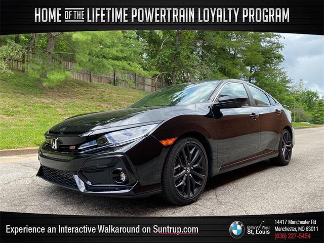 used 2020 Honda Civic Si car, priced at $29,815