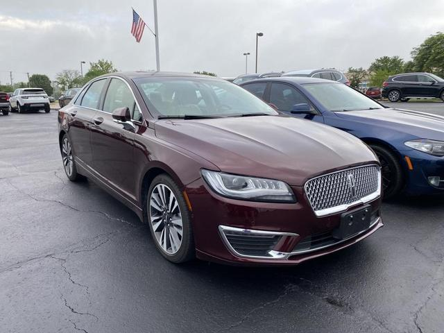 used 2018 Lincoln MKZ Hybrid car, priced at $29,995
