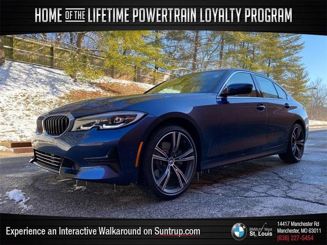 used 2021 BMW 330 car, priced at $42,595