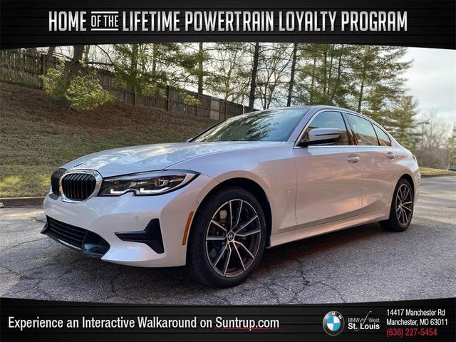 used 2021 BMW 330 car, priced at $42,998