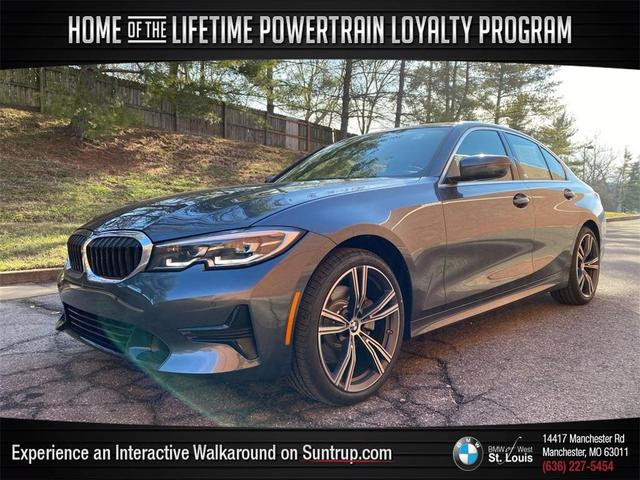 used 2021 BMW 330 car, priced at $41,545