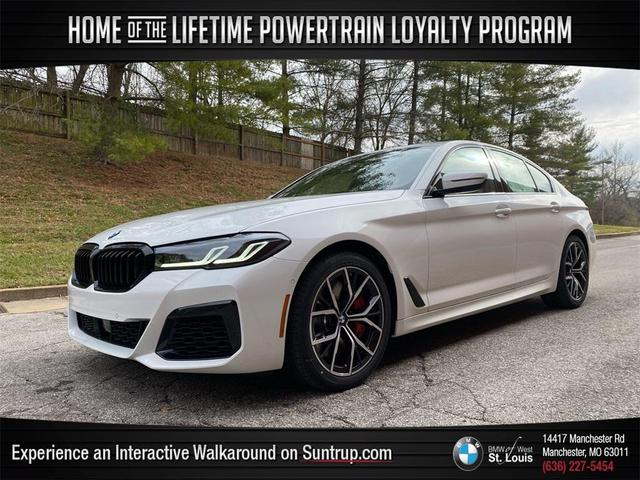 used 2021 BMW 540 car, priced at $64,990
