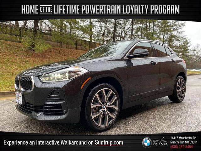 used 2021 BMW X2 car, priced at $37,998