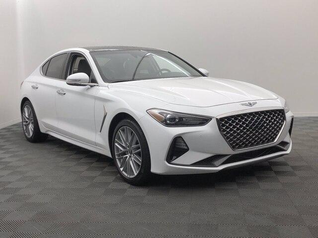 new 2021 Genesis G70 car, priced at $41,850