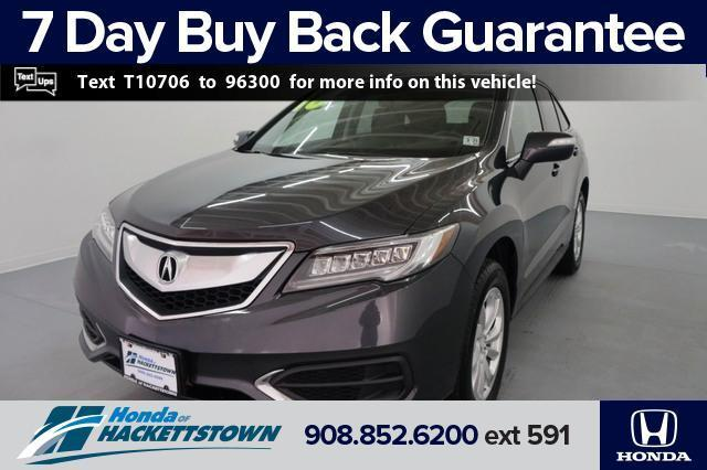 used 2016 Acura RDX car, priced at $17,695