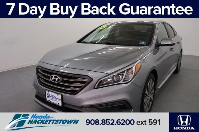 used 2015 Hyundai Sonata car, priced at $16,995