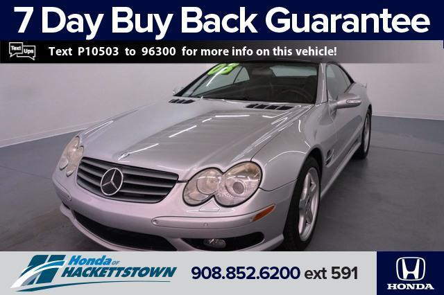 used 2003 Mercedes-Benz SL-Class car, priced at $15,995