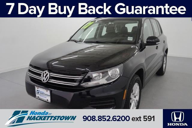 used 2017 Volkswagen Tiguan car, priced at $11,995