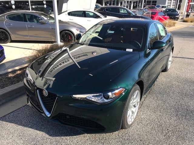 new 2021 Alfa Romeo Giulia car, priced at $51,439