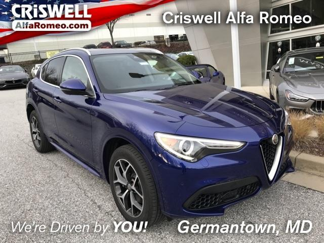 new 2021 Alfa Romeo Stelvio car, priced at $52,214