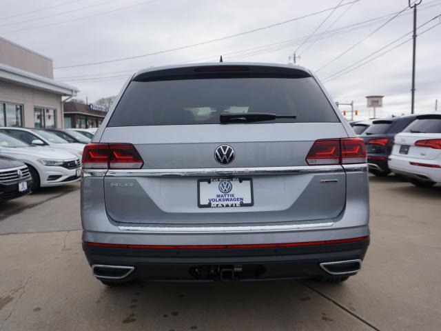 new 2021 Volkswagen Atlas car, priced at $49,987