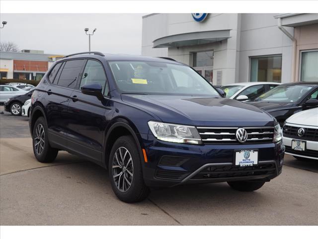 new 2021 Volkswagen Tiguan car, priced at $26,537