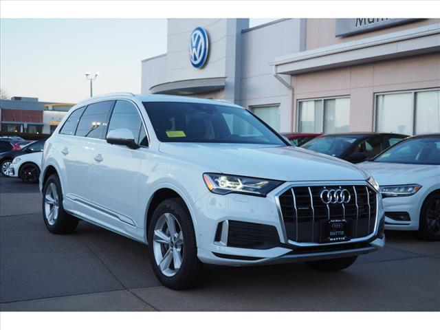 new 2021 Audi Q7 car, priced at $59,575