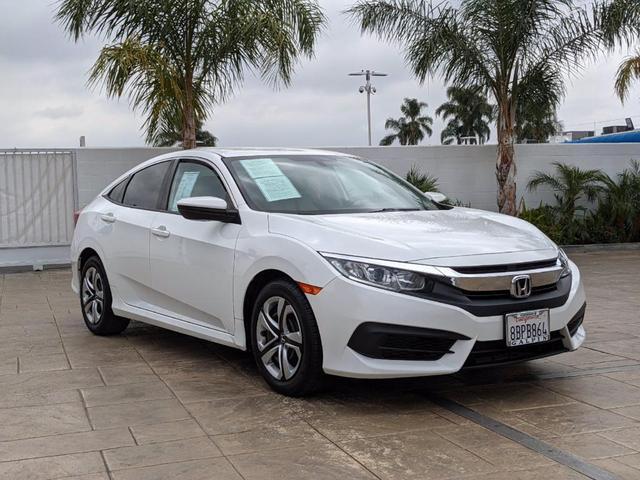 used 2017 Honda Civic car, priced at $18,500