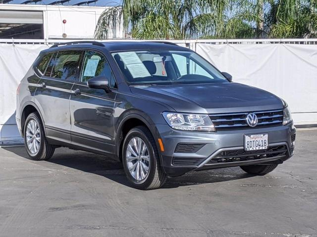 used 2018 Volkswagen Tiguan car, priced at $21,500