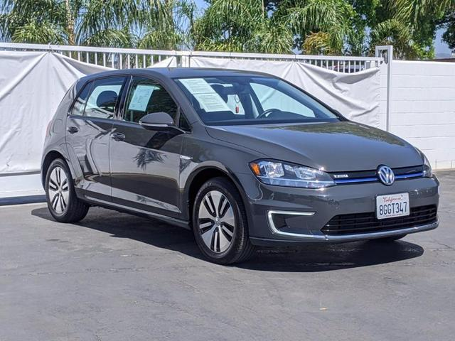 used 2018 Volkswagen e-Golf car, priced at $20,000