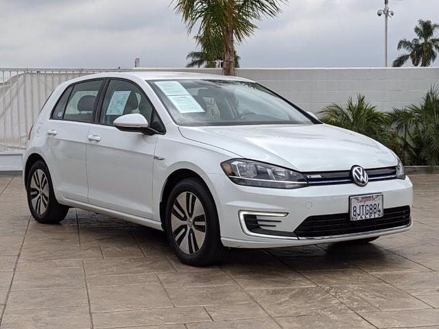 used 2019 Volkswagen e-Golf car, priced at $22,000