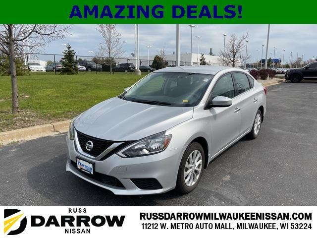 used 2019 Nissan Sentra car, priced at $18,696