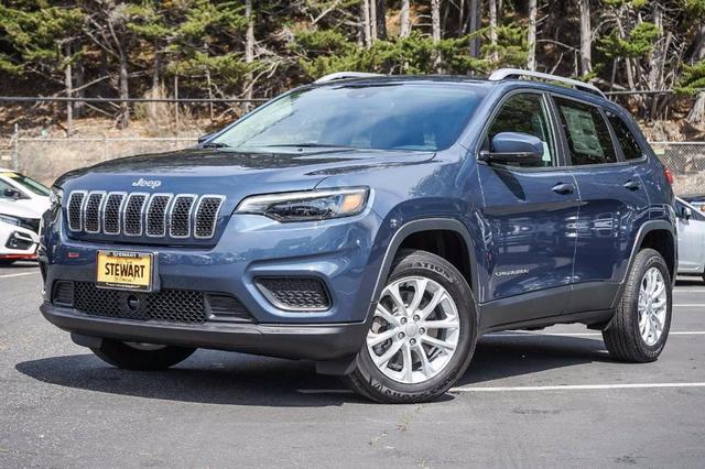 new 2021 Jeep Cherokee car, priced at $27,050